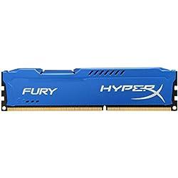 Kingston HyperX Fury Memorie DDR-III da 8 GB, PC 1600, Blu