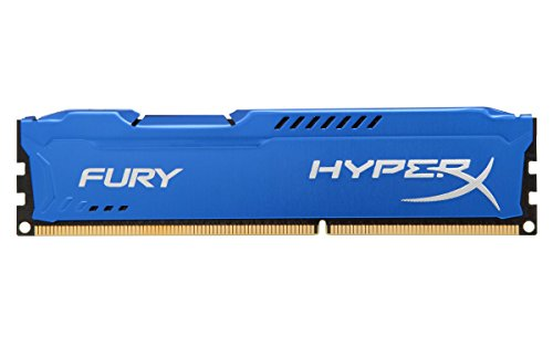 HyperX FURY Blue 8GB 1600MHz DDR3 CL10 DIMM  -HX316C10F/8 (8 Ram Gb Ddr3-sdram)