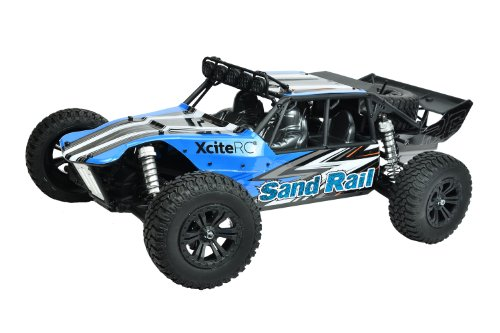Remote-control-car-XciteRC-Sand-Rail-4WD-RTR-model-car-Brushless-blue