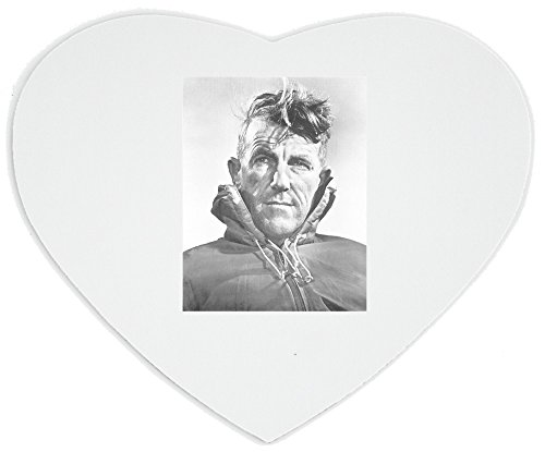 heartshaped-mousepad-with-sir-edmund-hillary-a-new-zealand-mountaineer-explorer-and-philanthropist-o