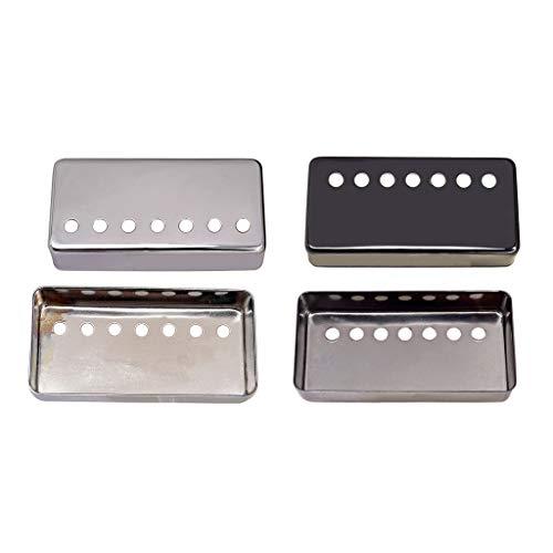 D DOLITY 4 Stück Humbucker Pickup Cover für 7-saitige E-Gitarren Parts (Sieben-saitige Gitarre)