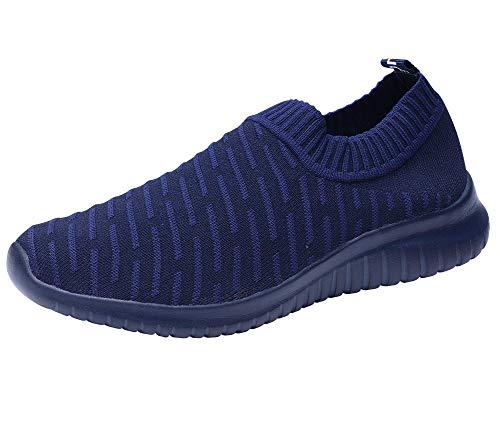 TIOSEBON Femme Athletic léger décontracté en Maille Chaussures...