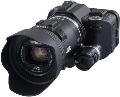 JVC GC-PX100BEU - Videocámara Full HD (12.8 Mp, WiFi, pantalla 3
