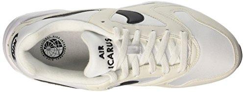 Nike Air Icarus Extra, Scarpe da Ginnastica Uomo Bianco (White/Black/Black)