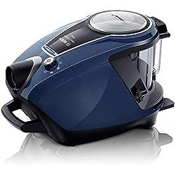 Bosch BGS7RCL Relaxx'x Ultimate Aspirador sin Bolsa, Extremadamente silencioso 68 decibelios, 700 W, 3 litros, Azul