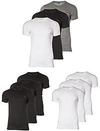 "DIESEL Pack 3 T-shirt, col rond Hommes, ""UMTEE-JAKETHREEPACK"" - sélection des couleurs"