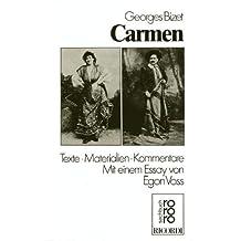 Carmen. Texte, Materialien, Kommentare