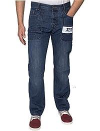 ENZO Hommes Mode Créateur COUPE STANDARD jeans jeans