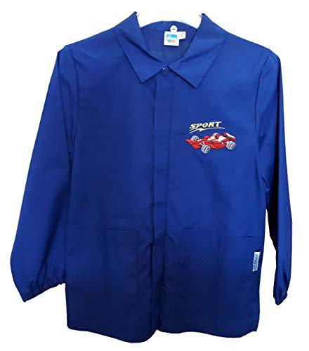 Siggi casacca grembiule 33cs1579 scuola bambino bluette 6/15 anni (tg 75 anni 8/alt. cm 128)