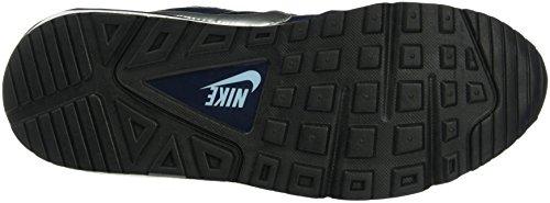 Nike Free 5.0 Print, Chaussures de Running Compétition Homme Bleu (Obsidian/Mtllc Silver/Blcp/Wht)