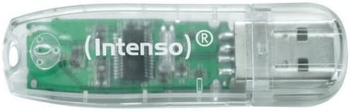 Intenso Rainbow Line 32 GB USB-Stick USB 2.0 transparent