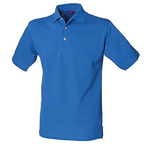 Henbury Herren Modern Poloshirt Königsblau