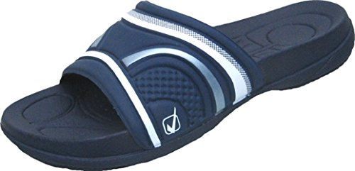 BOCKSTIEGEL® EVA Scivoli Spiaggia Pantofole Muli (Dimensioni: 36-41 Donne) Blue