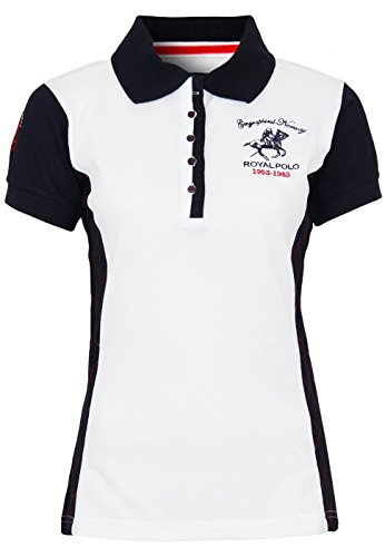 Geographical Norway Polo Kenza Lady White