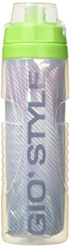 GioStyle Flasche Wärme Leichte Radfahrer Fitnessstudio Sport 0, 65Liter Trinkflasche, Grün, 15x20