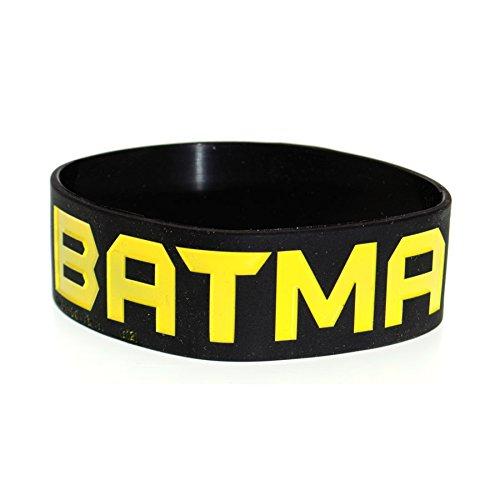 DC-Comics-Batman-Armband-Schwarz