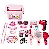 Riva776Yale 21 Stück Kinder-Haaranzug,Haar Kosmetik Dressing Fall Spielzeug für Kinder