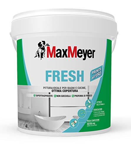 Maxmeyer 160869g500002 pittura murale fresh bianco 4 l