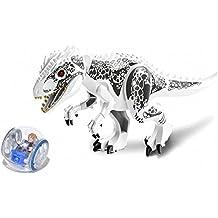 Mini figuras Dinosaurio y pelota Tirano saurio Rex Dinosaurio Mini figura Bloques de construcción Compatible con Lego Minifigures