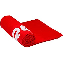 Cressi Toalla de Playa, Unisex Adulto, Rojo, 200 x 100 cm