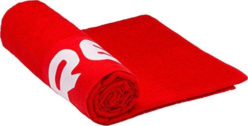 Cressi - Toalla de Playa, Unisex Adulto, Rojo, 200 x 100 cm