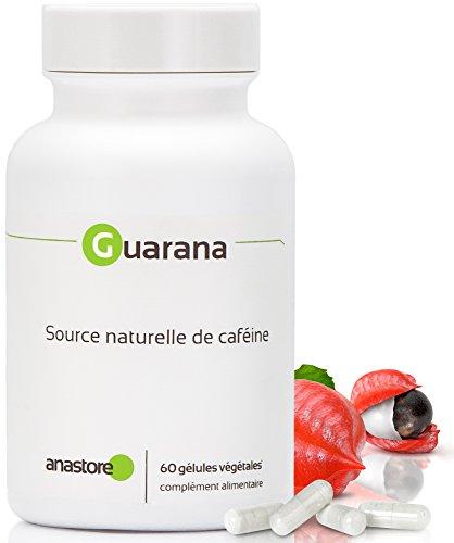 GUARANA Power ® * Le plus Haut titrage (12%) en caféine native * 450 mg / 60 gélules végétales * 54 mg de caféine naturelle par gélule * Energie & Minceur * Fabriqué en FRANCE * Qualité contrôlée par certificat d'analyse * 100% satisfait ou remboursé