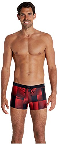 Speedo Herren Badehose Valmilton Asht AM Black/Red