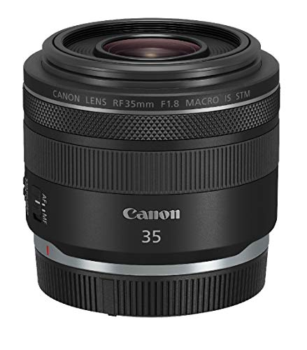 Canon RF-35mm f/1.8 Macro IS STM Objektiv (52mm Filtergewinde) schwarz
