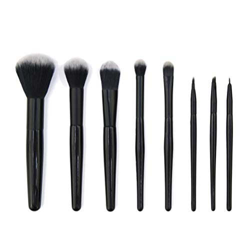 Frcolor 8pcs maquillage cosmétique maquillage sourcil poeder eyeliner pinceau