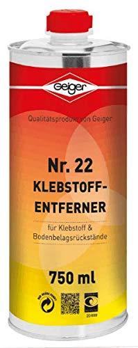 Geiger Chemie Nr. 22 Klebstoffentferner 750ml Dose