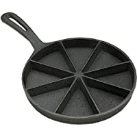 SCI Scandicrafts Corn Bread Skillet 8-Section, Cast Iron