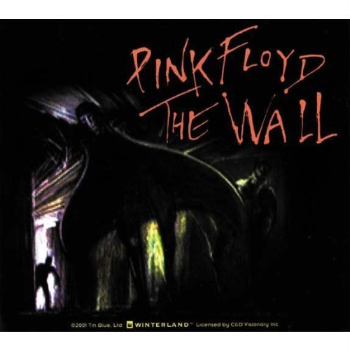 Pink Floyd–Mann mit Cape Aufkleber (Automobil-shirts Für Männer)