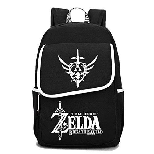 yoyoshome Luminous Anime The Legend of Zelda Cosplay Schultasche College Daypack Rucksack Schultasche 3