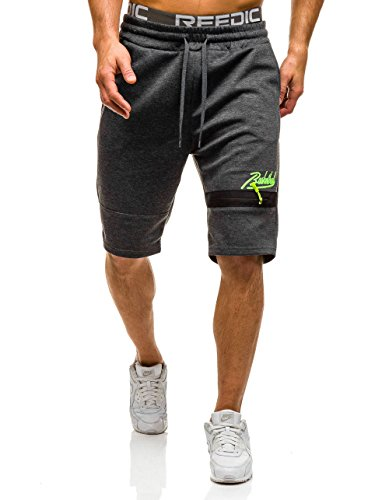BOLF Herren Shorts Bermudas Kurzhose Fitness Sporthose Jogginghose 7G7 Motiv