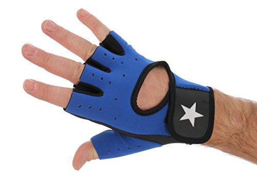 Solent-Star-EXERCISE-GLOVES-weight-lifting-cross-fit-general-gym-fitness-breathable-light-silica-padding-training-glove