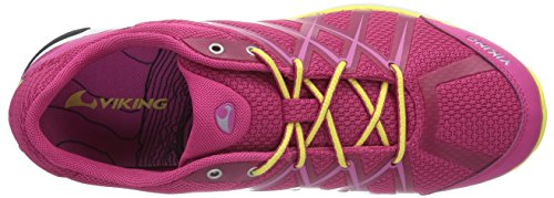 Viking - Marka W, Scarpe da Trail Running Donna Rosa (Pink (Dark Pink/Yellow 3913))