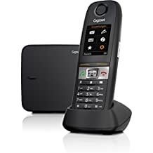 Gigaset E630 Analog/DECT - Teléfono (Analog/DECT telephone, Terminal inalámbrico, 200 entradas, Servicios de mensajes cortos (SMS))