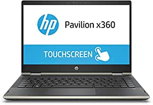 HP Pavilion x360 Convertible 14-cd0081TU 14-inch FHD Slim Laptop with Pen(8th Gen Intel Core i5-8250U/256 GB SSD/8GB RAM/Windows 10), Pale Gold