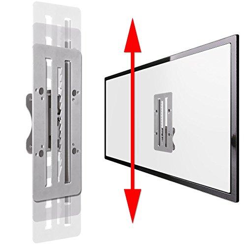 DRALL INSTRUMENTS Adapter System für Monitorhalterung an Tisch/Wandhalter um 17,7 cm beweglich auf/ab horizontal/vertikal Erweiterung für Tisch- Wandhalterungen mit VESA 75 100 Modell: L88 (Vertikale Adapter)