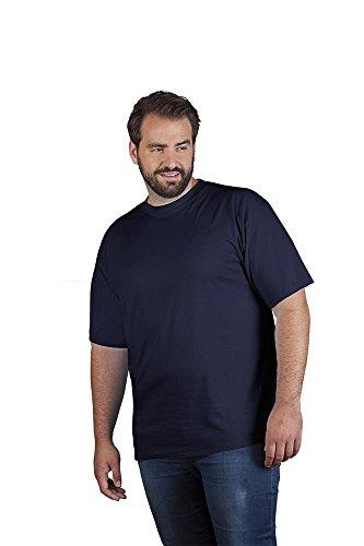 Premium T-Shirt Plus Size Herren, 4XL, Marineblau (Blaues T-shirt)