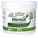 AniForte WermiX Pulver 50g für Hühner, Gänse, Enten und Großvögel - Natürlicher Wurmfeind, Naturprodukt Bei und Nach Wurmbefall