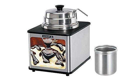 Hot Fudge avec CNS Cuillère 250mm ce–Type LFS/Noir/avec behalter