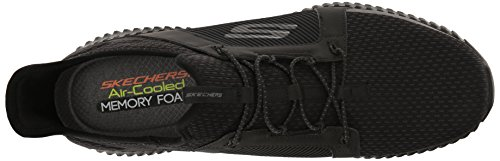 Skechers Herren Elite Flex Slip On Sneaker Schwarz (nero)