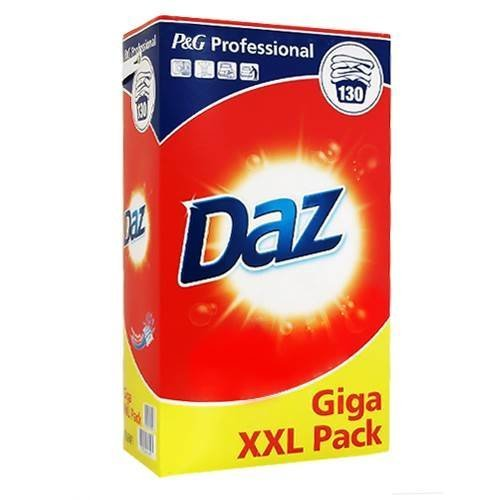Daz P&G Professional Washing Powder 130 Washes Giga XXL Pack Soap Powder