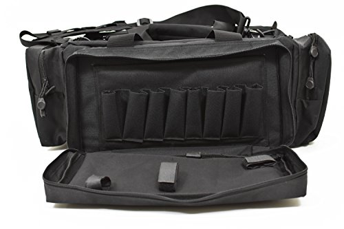 OKAMI Fightgear Tactical Range Bag Tasche Für Schießsport, schwarz, One Size (Tactical Bag Range)