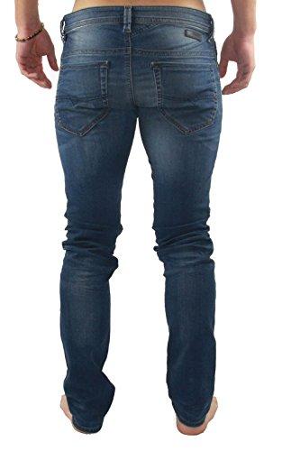 Diesel - Jeans Thavar-ne Jogg Jeans 0674z Bleu Bleu