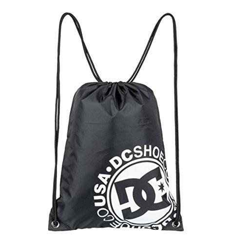 DC Apparel Herren Cinched Gear Bag, Black, 46 x 35, 5 cm -