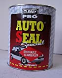 HB Body Pro Autoseal Brushable Seamsealer 1kg - Car body Seam Sealer Excellent Adhesion & Remains Flexible V.O.C Compliant Used For Overlap Seams On Car Panels/Restoration work