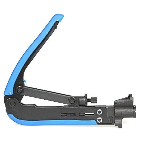 Generic Multitool Tragbar Crimpzange Hand Werkzeuge Kabel-Crimper Koaxial Kompressions Crimpzange E-Werkzeug für F RG59RG6RG11