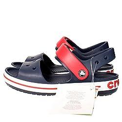 Die sportliche Crocsband Sandale Mädchen rosa Sandalen sind das perfekte Paar aktive Füße mithalten können. Einfach an-und ausschalten, verfügen sie über eine schwenkbare Riemen, die den Stil der klassischen Croc imitiert. Hergestellt aus Croslite Cr...